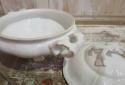 Fine White Porcelain Soup Tureen - picture 2