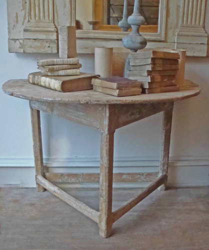 18th century Antique Rustic French Console