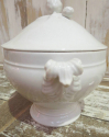 Smaller French White Soup Tureen - picture 2