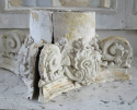 19th century French Plaster Capitals - picture 6