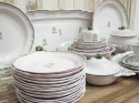 French Faiance Dinner Service by `Moustier` - picture 5
