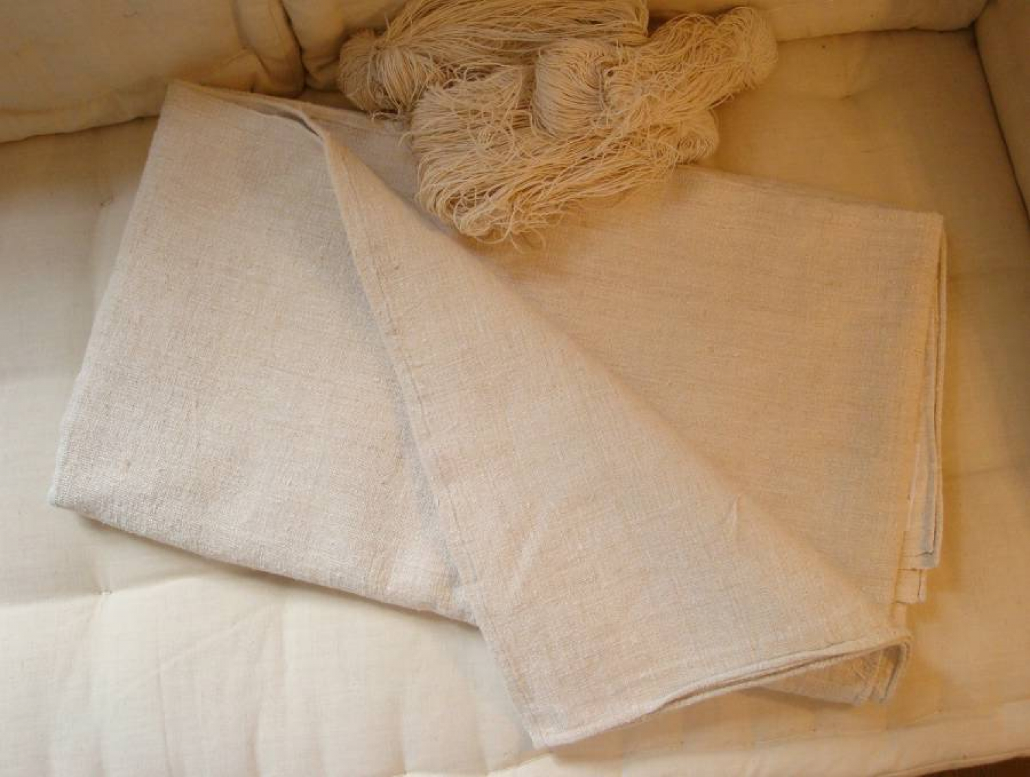 Heavy Linen Hemp Sheet
