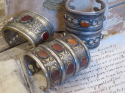 Antique Silver Turkoman `Cuff Bracelets` - picture 1