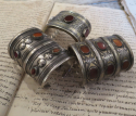 Antique Silver Turkoman `Cuff Bracelets` - picture 2