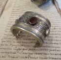 Antique Silver Turkoman `Cuff Bracelets` - picture 3