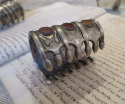 Antique Silver Turkoman `Cuff Bracelets` - picture 4