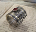 Antique Silver Turkoman `Cuff Bracelets` - picture 5