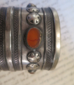 Antique Silver Turkoman `Cuff Bracelets` - picture 7