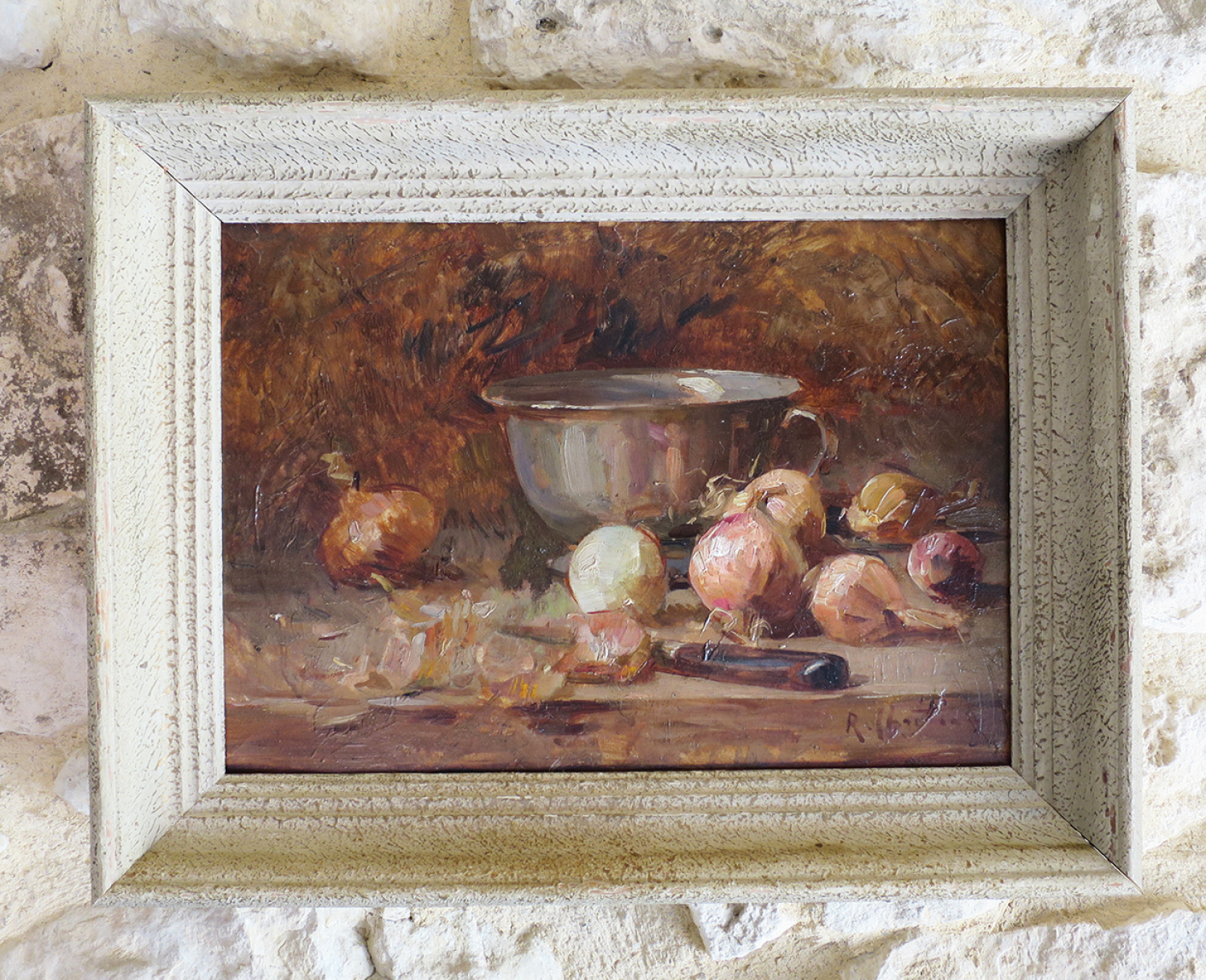 French Still Life of Oinions