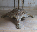 French 19th century Round iron Garden Table - picture 2