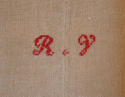 Old French linen sheet - picture 2