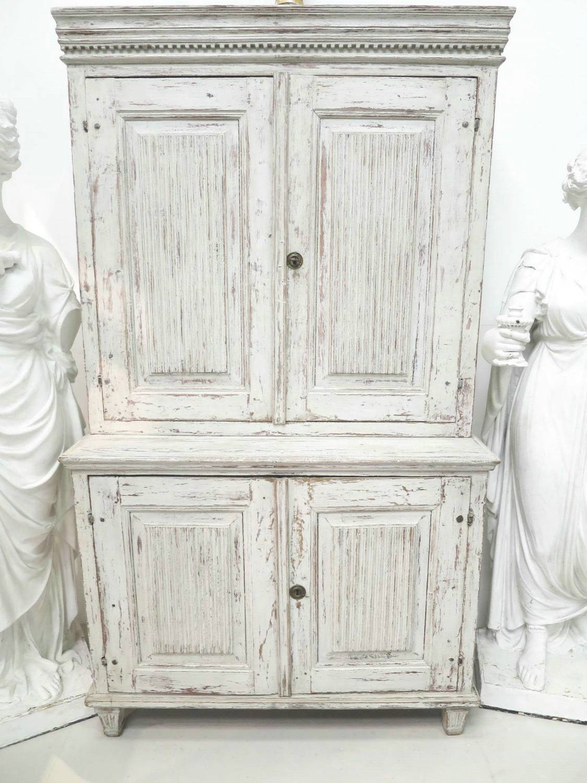 18th c Swedish Cupboard - picture 1 ... - 18th C Swedish Cupboard In Antique Furniture