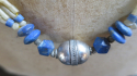 Blue Beaded Necklace - picture 3