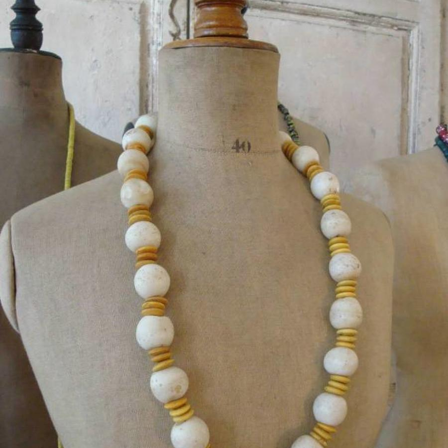 African antique Bead Necklace