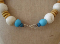 African antique Bead Necklace - picture 3