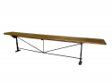 Long , narrow Spanish Table with Iron Base - picture 2