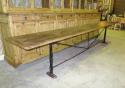 Long , narrow Spanish Table with Iron Base - picture 3