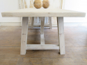 Swedish Large Pine Trestle Table - picture 3