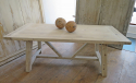 Swedish Large Pine Trestle Table - picture 4