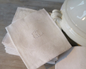 Collection of White Linen Napkins - picture 4
