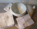 Collection of White Linen Napkins - picture 5