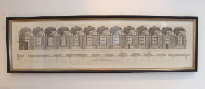 Vatican Engraving 18th century