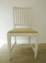 6 Swedish 19th c Slate-Back dining chairs - picture 4