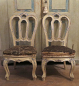 Rare Pair of 18th century Venetian Chairs - picture 2