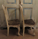 Rare Pair of 18th century Venetian Chairs - picture 4
