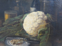 Still Life Painting of Cauliflower - picture 3