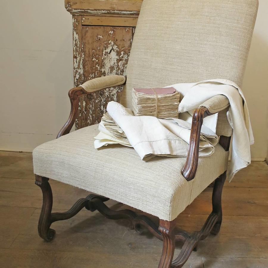 Antique French Fauteuil 18th century Louis X1V