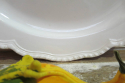 Pretty French off-white Oval Serving Plate - picture 2