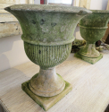 Pair of Portland Stone Regency Vases - picture 3
