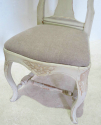 Set of 6 Gustavian style Dining Chairs - picture 3