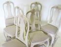 Set of 6 Gustavian style Dining Chairs - picture 4
