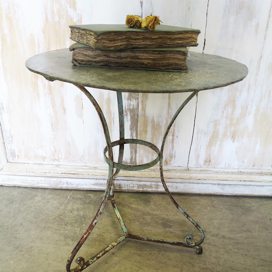 Small Round French Cafe Table