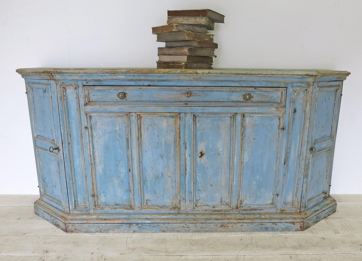 18th c Italian Buffet with original paint