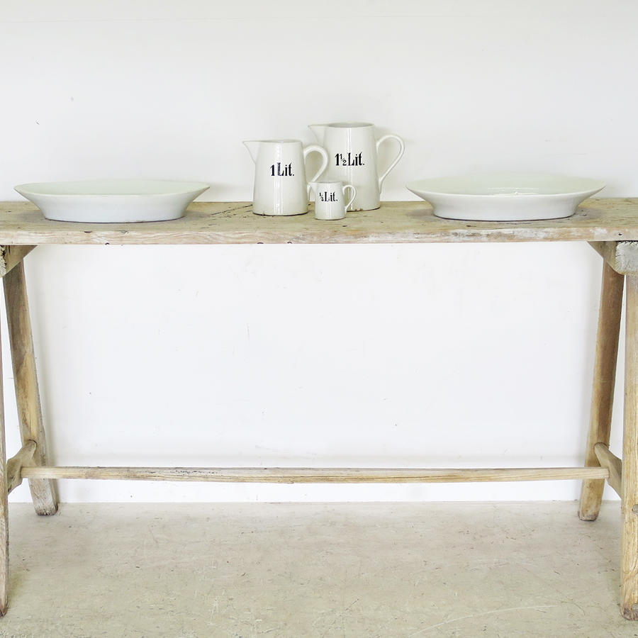 French Washing Table or Console