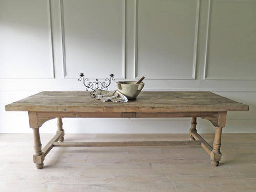 french farmhouse dining table 18th c French Farmhouse Dining Table   circa 1790 in Antique Tables french farmhouse dining table