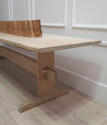 Long 19th century Swedish Stretcher-base Dining Table. Circa 1850 - picture 1