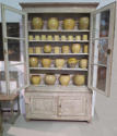 19th c French Painted Bookcase - picture 3
