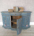18th c Italian Buffet with orignal blue paint circa 1750 - picture 2