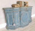 18th c Italian Buffet with orignal blue paint circa 1750 - picture 5