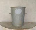 Vintage Zinc Flour Tubs - picture 2