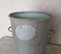 Vintage Zinc Flour Tubs - picture 3