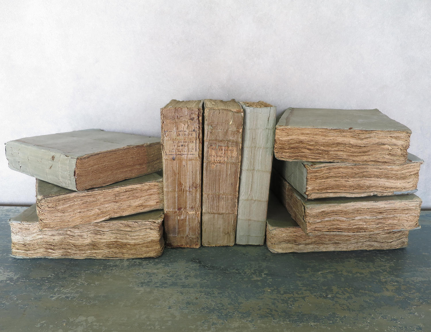 Large 18th c Important French Law Books