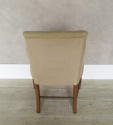 Single 19th c French Chair clad in old linen - picture 4