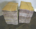 2 bundles of 18th c French Books with ochre covers Printed 1796 - picture 1