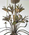 French early 20th c decorative 'Tole' Chandelier circa 1910 - picture 2