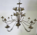 French early 20th c decorative 'Tole' Chandelier circa 1910 - picture 3
